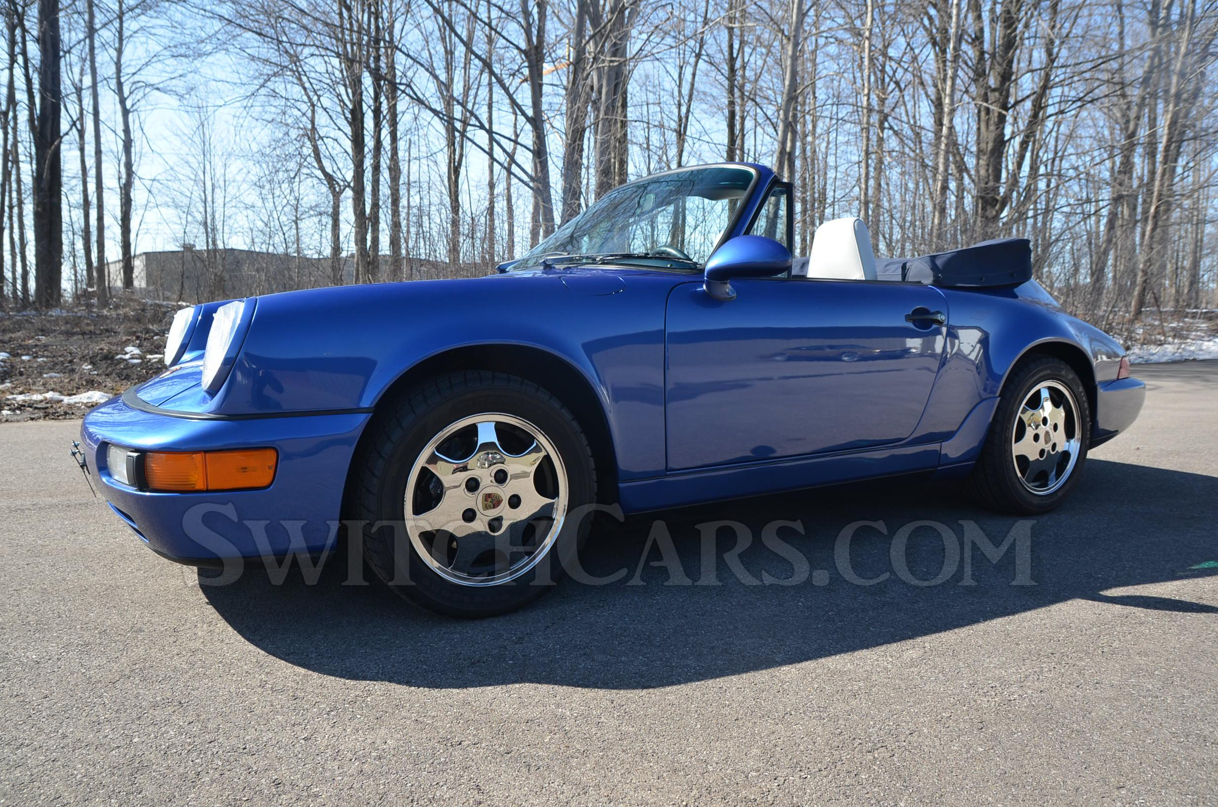 1992 Porsche 911 Carrera 4 Cabriolet at Switchcars Inc Sold