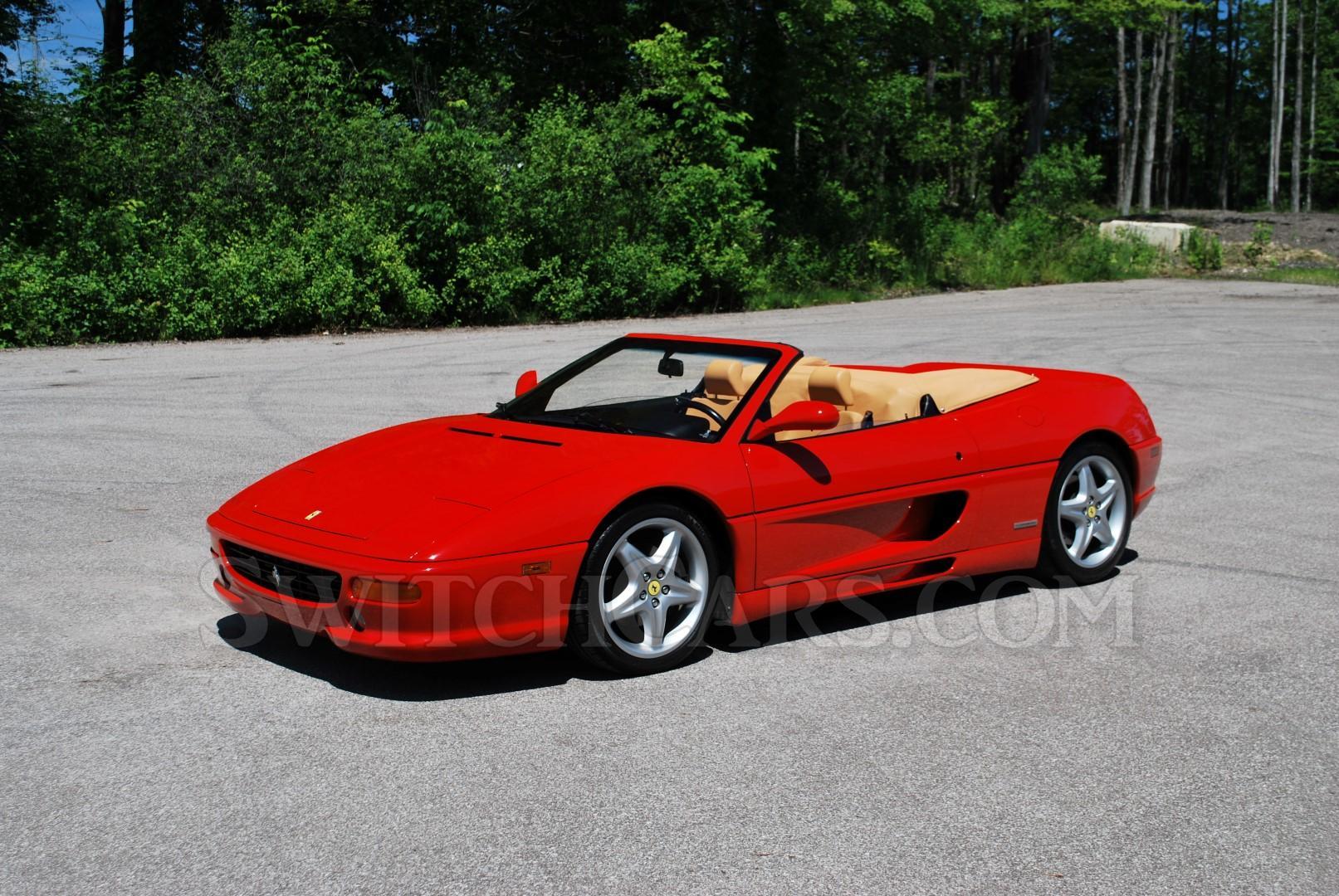 1998 Ferrari F355 Spider 6-speed Manual at Switchcars Inc ...