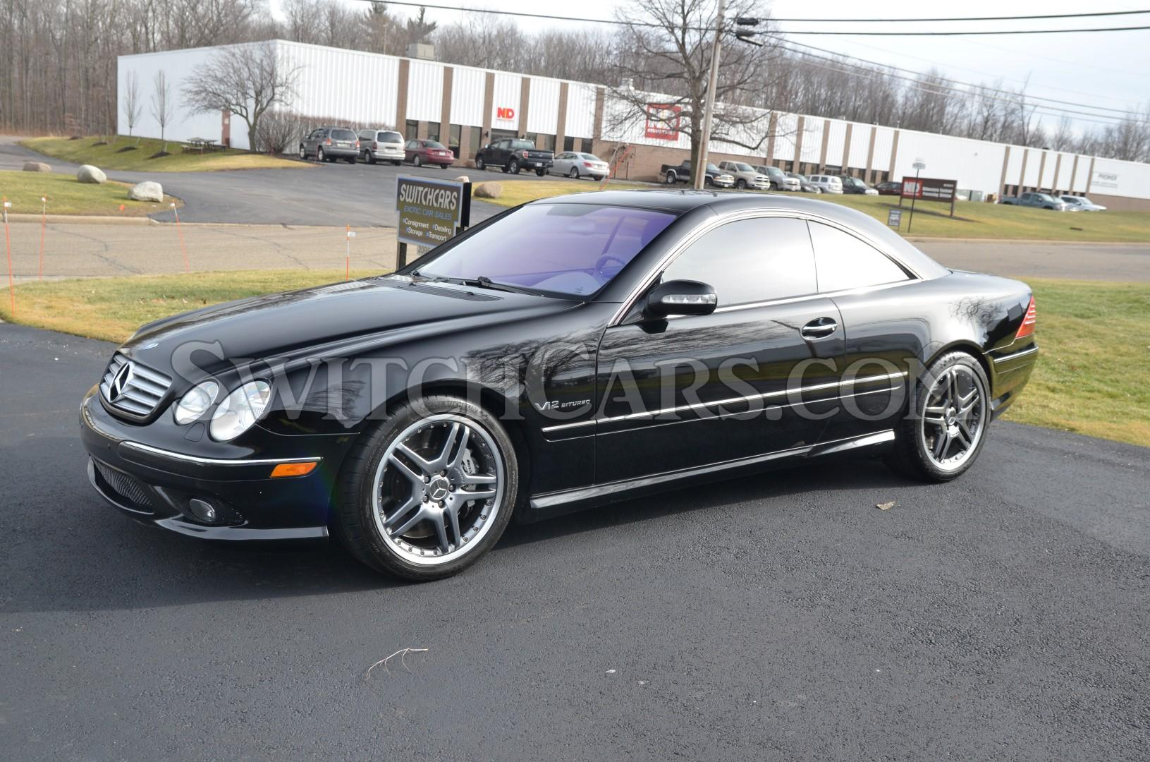 2005 mercedes benz cl65 amg at switchcars inc sold for Mercedes benz cl65 amg coupe